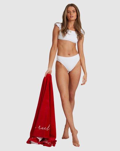 5 Beach Bliss Maui Rider Bikini Bottoms - Steph Claire Smith White ABJX400370 Billabong