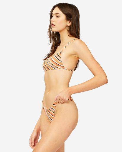 1 Time To Go Tanga Bikini Bottom Grey ABJX400374 Billabong