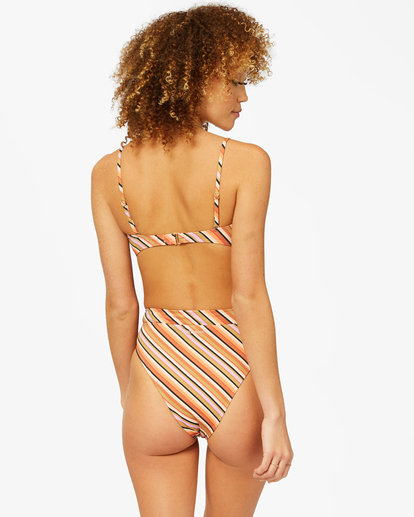 1 Time To Go Rise Bikini Bottom Grey ABJX400376 Billabong