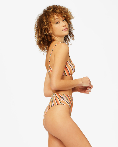 2 Time To Go Rise Bikini Bottom Grey ABJX400376 Billabong