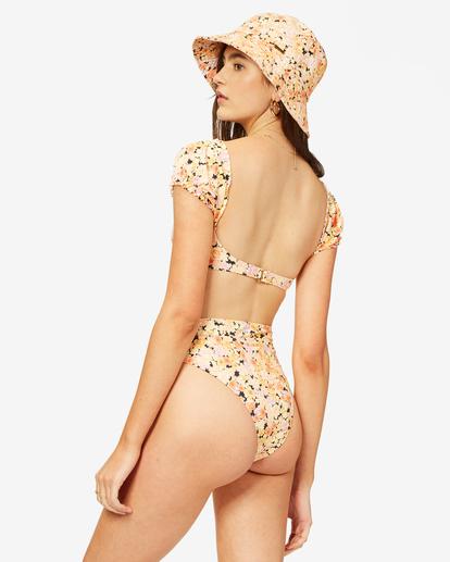 2 Forever Dazed Rise High-Waist Bikini Bottom Grey ABJX400380 Billabong