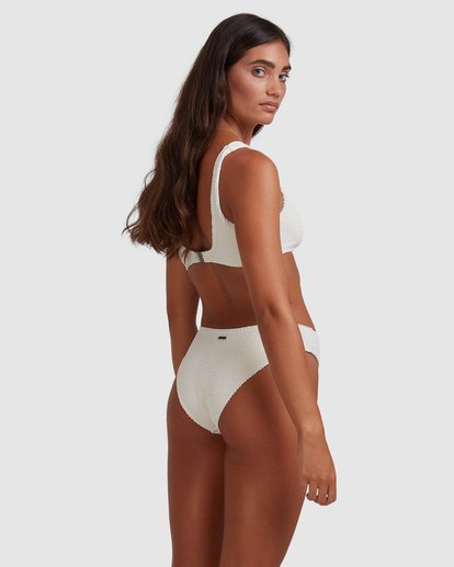 1 Summer High Bondi Bikini Bottom White ABJX400399 Billabong