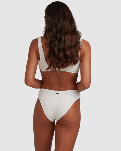 3 Summer High Bondi Bikini Bottom White ABJX400399 Billabong