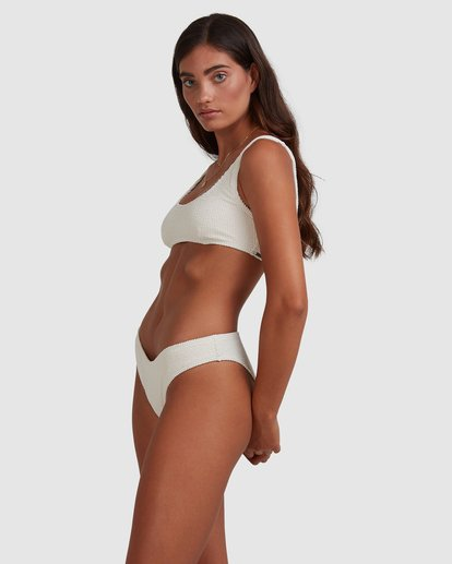 2 Summer High Bondi Bikini Bottom White ABJX400399 Billabong