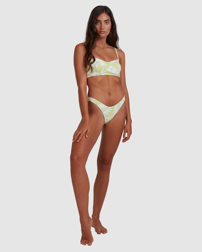 6 Sundrenched Hike Bikini Bottom Green ABJX400401 Billabong