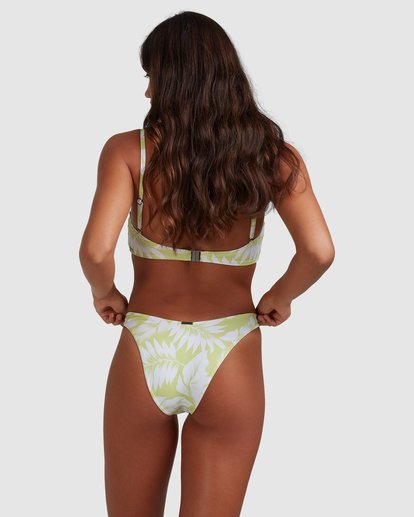 1 Sundrenched Hike Bikini Bottom Green ABJX400401 Billabong