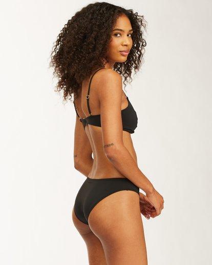 3 Sol Searcher Bondi Bikini Bottom Black ABJX400409 Billabong