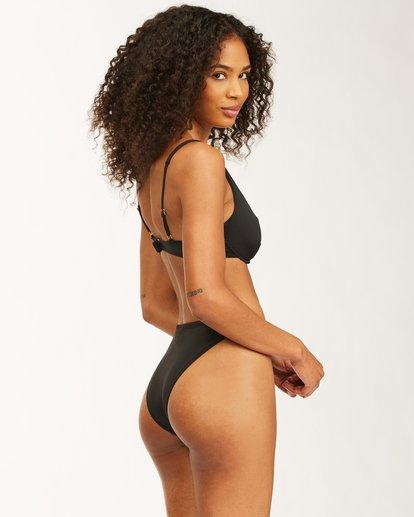 3 Sol Searcher Havana Bikini Bottom Black ABJX400410 Billabong