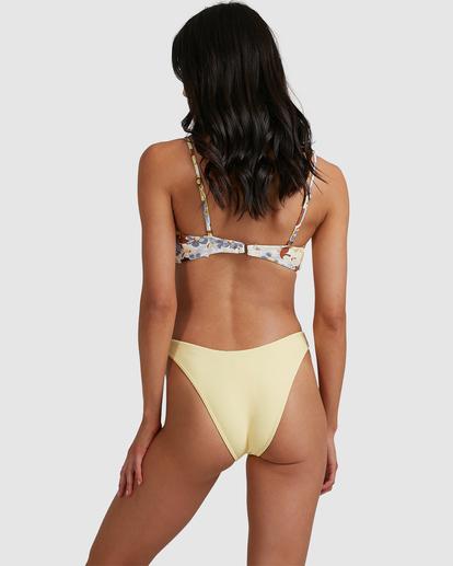 2 Tanlines Hike Bikini Bottom Yellow ABJX400474 Billabong