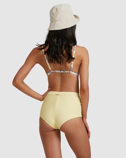 2 Tanlines Avalon Bikini Bottom Yellow ABJX400475 Billabong