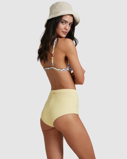 4 Tanlines Avalon Bikini Bottom Yellow ABJX400475 Billabong