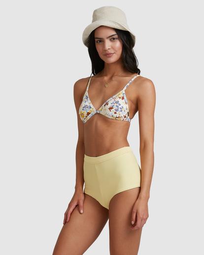 3 Tanlines Avalon Bikini Bottom Yellow ABJX400475 Billabong