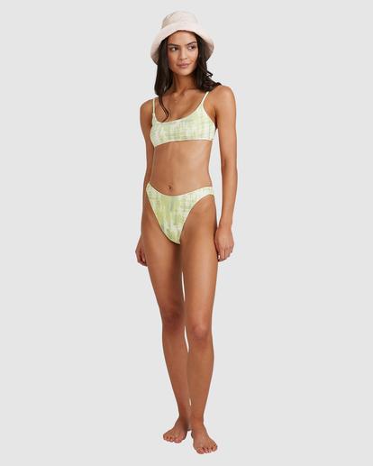 7 To Dye For Havana Bikini Bottom Green ABJX400501 Billabong