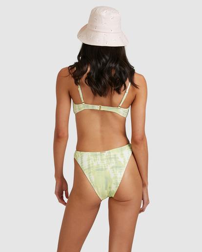 1 To Dye For Havana Bikini Bottom Green ABJX400501 Billabong