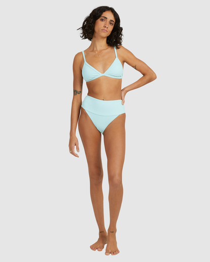 6 Sunrays Kauai Bikini Bottom Blue ABJX400504 Billabong