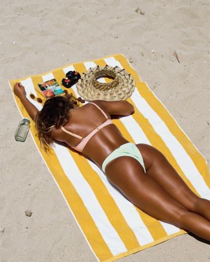 0 Hot Tropics Havana Bikini Bottom Blue ABJX400505 Billabong