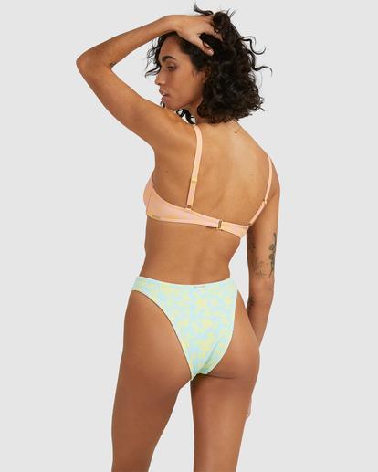 4 Hot Tropics Havana Bikini Bottom Blue ABJX400505 Billabong