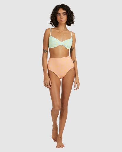 7 Hot Tropics Hi Retro Bikini Bottom Multicolor ABJX400506 Billabong
