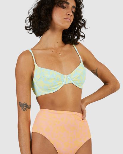 6 Hot Tropics Hi Retro Bikini Bottom Multicolor ABJX400506 Billabong