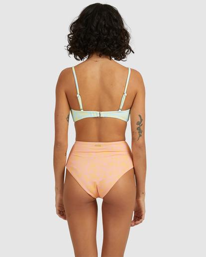4 Hot Tropics Hi Retro Bikini Bottom Multicolor ABJX400506 Billabong