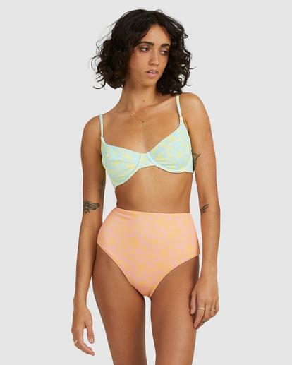 5 Hot Tropics Hi Retro Bikini Bottom Multicolor ABJX400506 Billabong