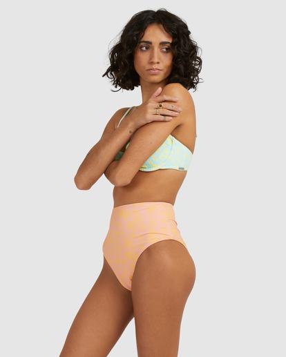 2 Hot Tropics Hi Retro Bikini Bottom Multicolor ABJX400506 Billabong