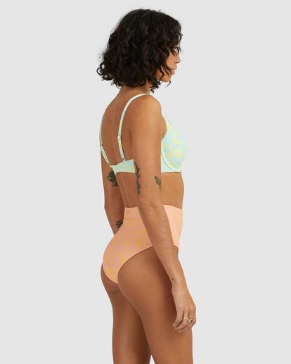 3 Hot Tropics Hi Retro Bikini Bottom Multicolor ABJX400506 Billabong