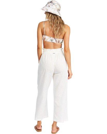 3 Wander On Beach Cover-Up Pants White ABJX600154 Billabong