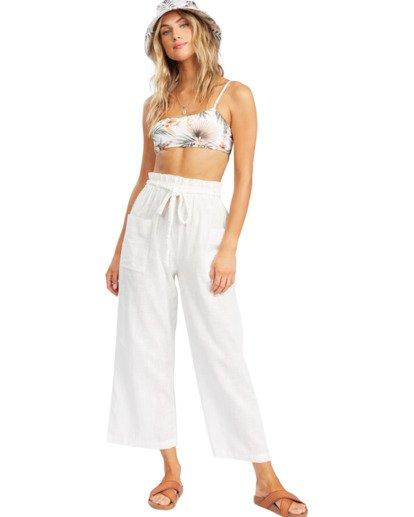 1 Wander On Beach Cover-Up Pants White ABJX600154 Billabong
