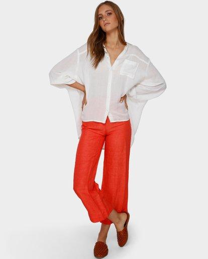 3 Strangers Shirt White ABJX600161 Billabong