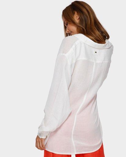2 Strangers Shirt White ABJX600161 Billabong