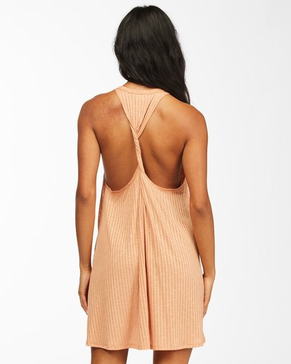 2 Sandy Sea Beach Cover-Up Dress Brown ABJX600166 Billabong