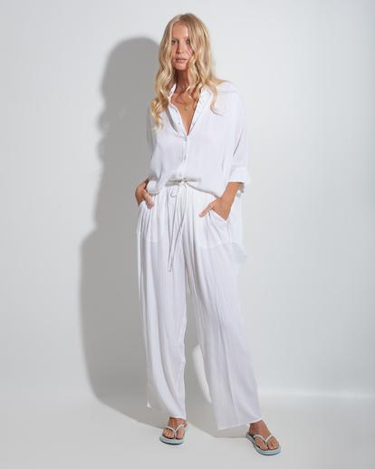 1 Beach Dream Cover-Up Dress White ABJX600181 Billabong
