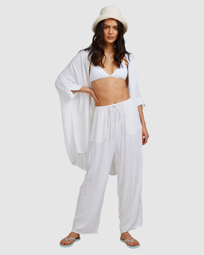 8 Beach Dream Cover-Up Dress White ABJX600181 Billabong
