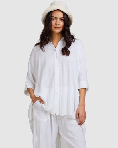 2 Beach Dream Cover-Up Dress White ABJX600181 Billabong