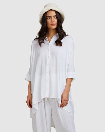 6 Beach Dream Cover-Up Dress White ABJX600181 Billabong