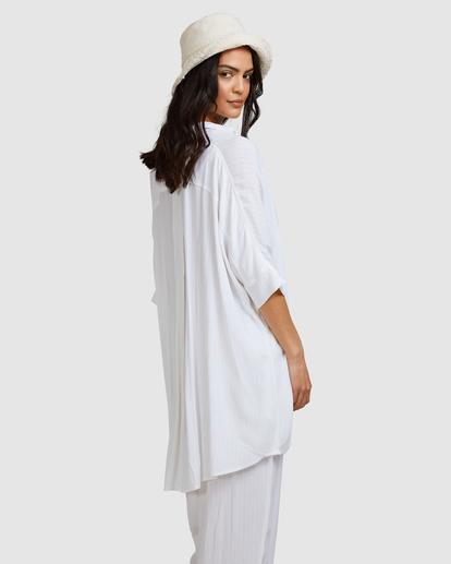 4 Beach Dream Cover-Up Dress White ABJX600181 Billabong