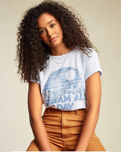 0 Dream All Day T-Shirt Blue ABJZT00117 Billabong