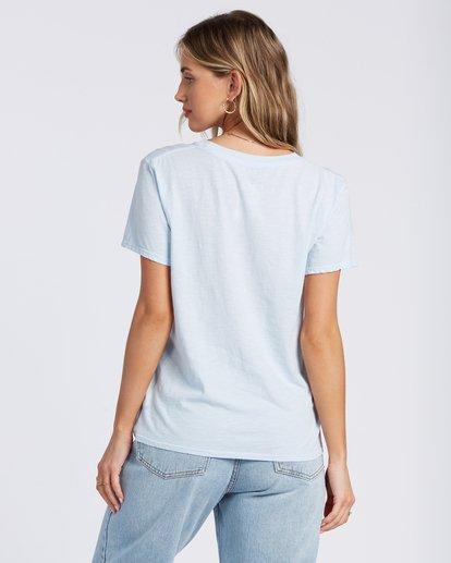 3 Dream All Day T-Shirt Blue ABJZT00117 Billabong