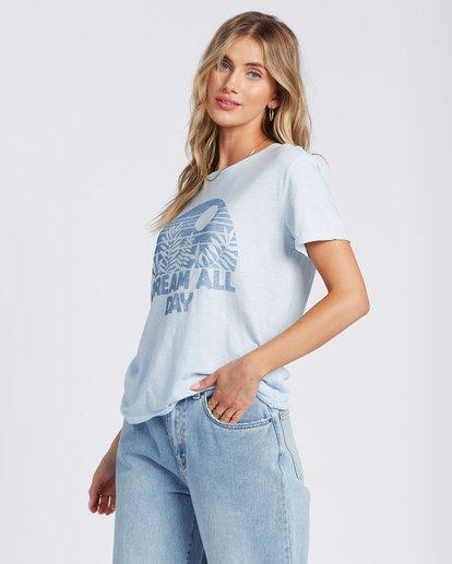 2 Dream All Day T-Shirt Blue ABJZT00117 Billabong
