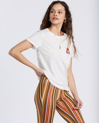 1 Love And Surf T-Shirt White ABJZT00133 Billabong