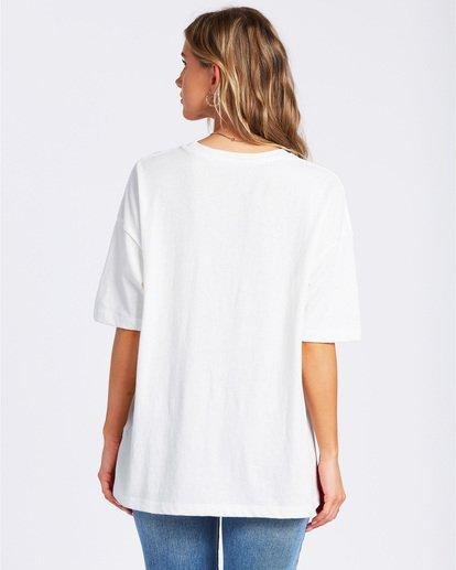 4 Livin The Dream T-Shirt White ABJZT00134 Billabong