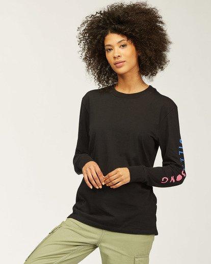 2 A/DIV Sunset View Long Sleeve T-Shirt Black ABJZT00139 Billabong