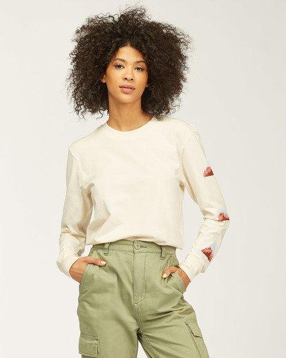 0 Moutain Peak Long Sleeve T-Shirt White ABJZT00146 Billabong