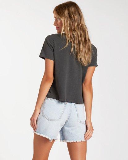 2 Under the Sun Short Sleeve T-Shirt Black ABJZT00150 Billabong