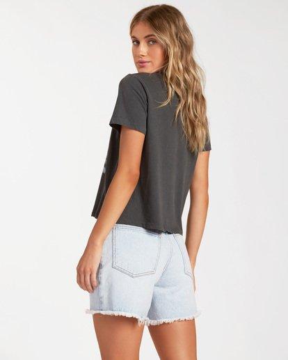 1 Under the Sun Short Sleeve T-Shirt Black ABJZT00150 Billabong