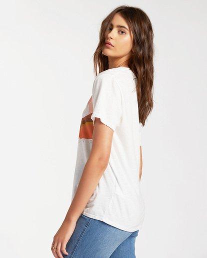 1 Endless Horizon Short Sleeve T-Shirt White ABJZT00164 Billabong