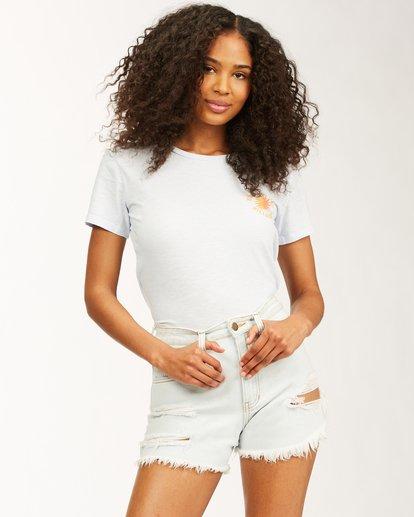 1 Keep Shining Short Sleeve T-Shirt White ABJZT00172 Billabong