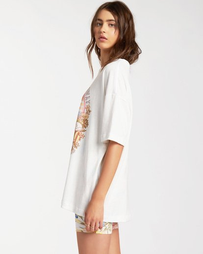 2 Day Dream Away Short Sleeve T-Shirt White ABJZT00176 Billabong