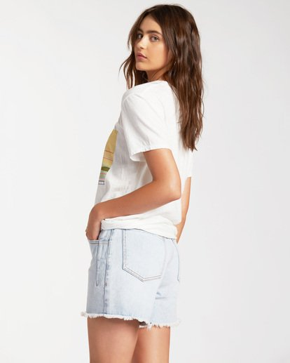 2 Sunny Days Short Sleeve T-Shirt White ABJZT00185 Billabong